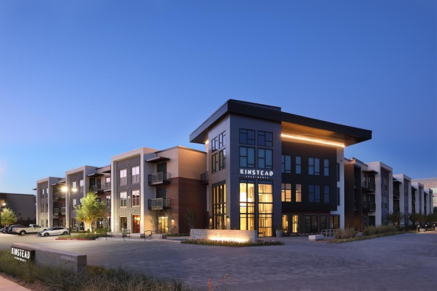 Zom Living has sold Kinstead McKinney Apartments to a fund sponsored by CBRE Global Investors. (Courtesy Zom Living)