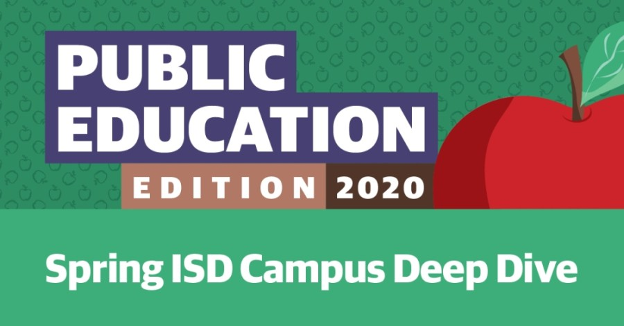 See Spring ISD's student and teacher demographic breakdown compared to the rest of the state.