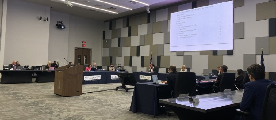The McKinney ISD board of trustees approved a request for qualifications for architectural services for the elementary school at its Sept. 22 meeting. (Elizabeth Ucles/Community Impact Newspaper)