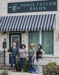 Tonie Taylor Salon opened in Gruene Lake Village on Sept. 20. (Courtesy Tonie Taylor Salon)
