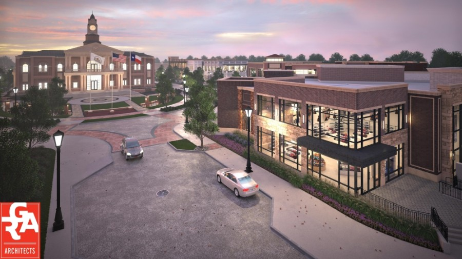 A new development by Integrity Group LLC will bring a mixed-use building into the heart of Old Roanoke with retail, restaurants and covered parking. (Courtesy of Integrity Group LLC)
