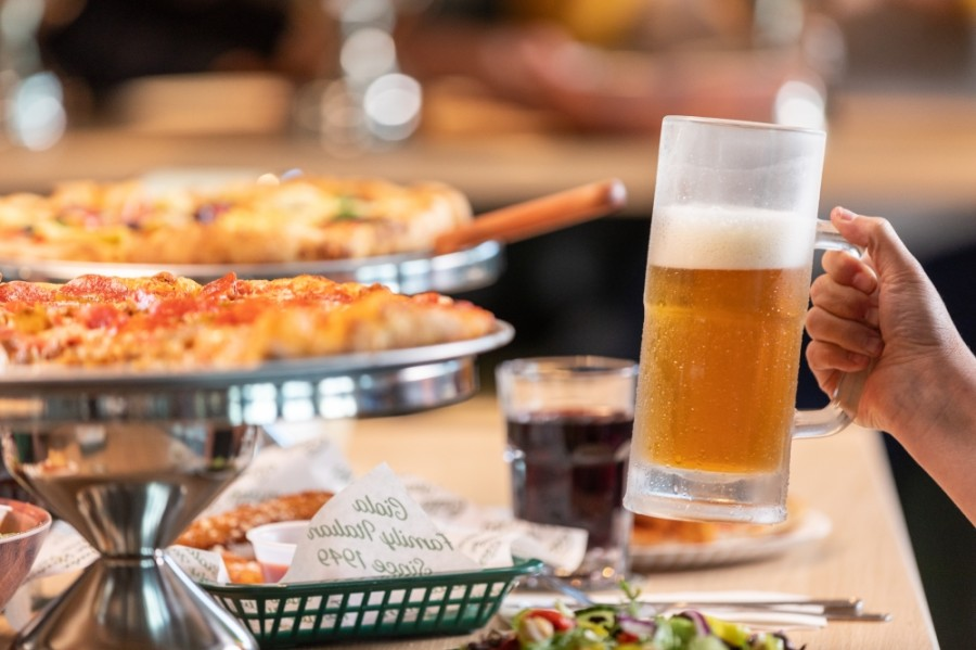 Tony C's Pizza & Beer Garden is a fusion of Tony C's coal-fired pizza and Italian classics paired with inspirations from Brooklyn's beer scene. (Courtesy Tony C's Pizza & Beer Garden)