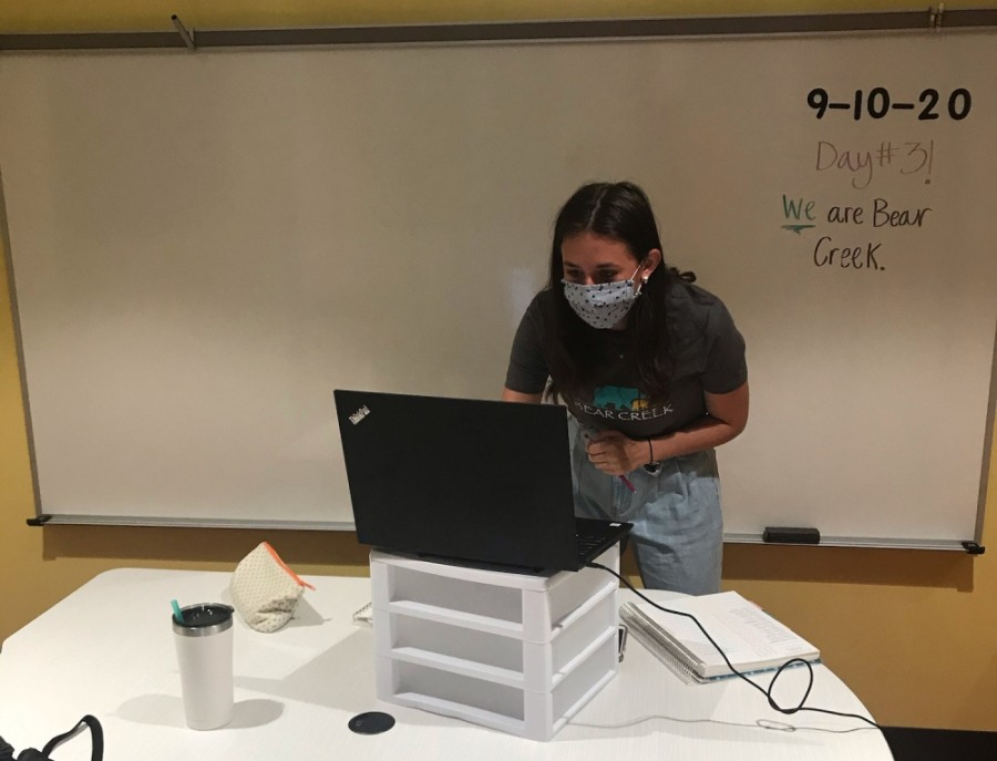 Austin ISD teachers have been able to teach virtually from their classrooms to start the school year. Some students will return to the classroom Oct. 5. (Courtesy Austin ISD)