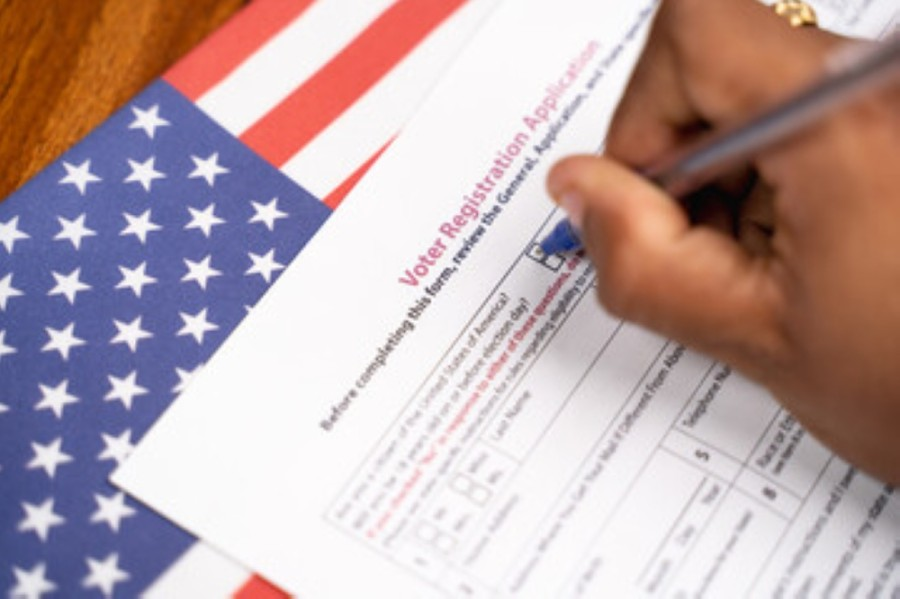 The League of Women Voters Richardson is holding an in-person voter registration drive ahead of the Nov. 3 election. (Courtesy Adobe Stock)