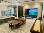 The Rosemary features resort-style amenities, including a pool, a resident lounge, a catering kitchen and a game lounge. (Courtesy The Rosemary)