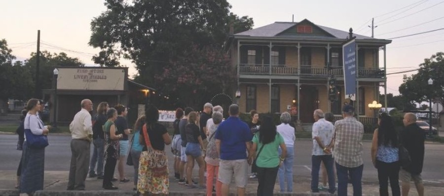 Courtesy New Braunfels Ghost Tours