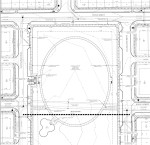 The city of Frisco and GRBK Edgewood LLC entered into a development agreement to revise the layout and amenities for the park space near Eldorado Parkway and Coit Road. (Site plan courtesy city of Frisco)