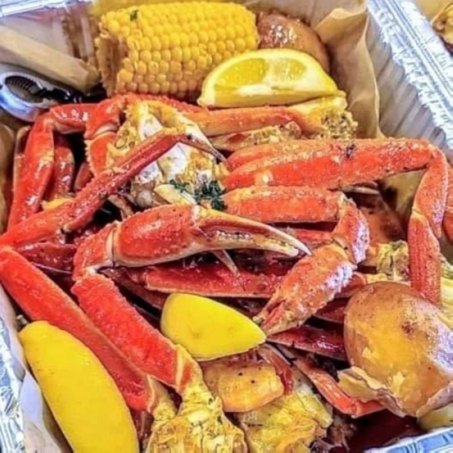 Menu items include fried, grilled and boiled seafood platters as well as Cajun staples ranging from gumbo and shrimp etouffee to boudin balls and po'boys. (Courtesy The Catch)