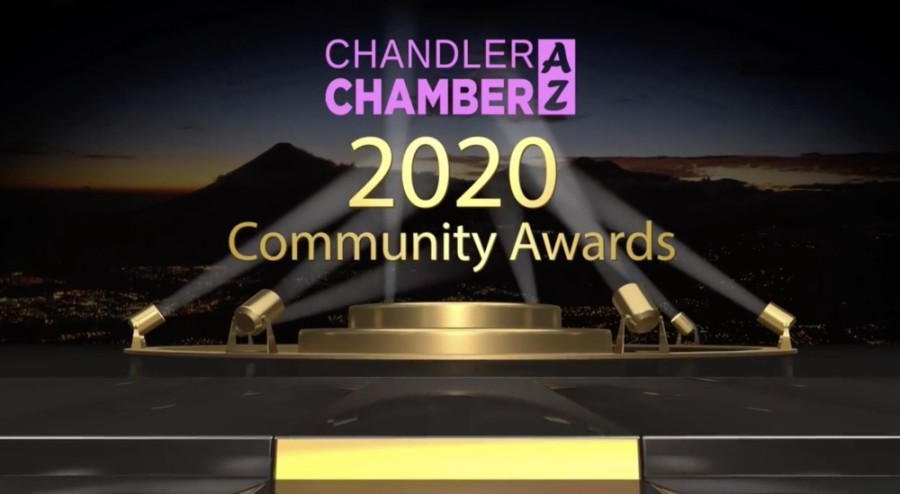 Here are the award winners for the Chandler Chamber Community Awards. (Courtesy Chandler Chamber)