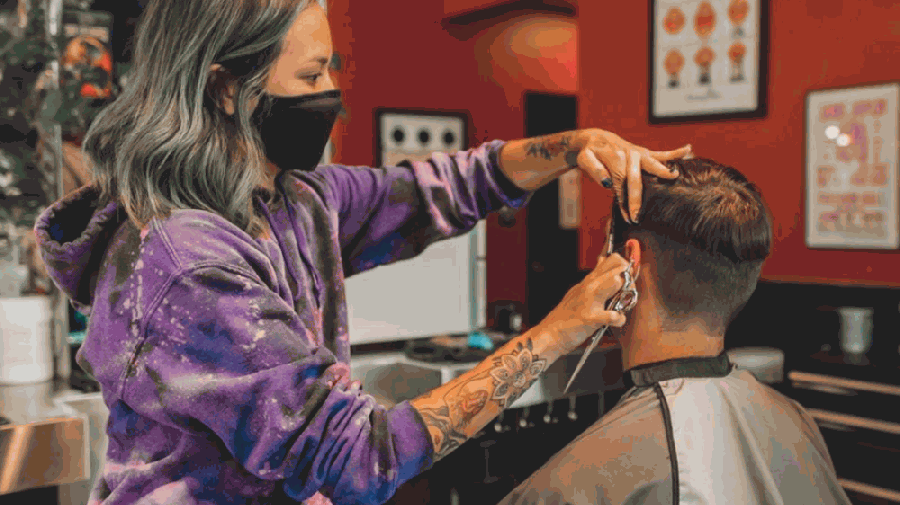 The salon will offer services for men, women and children, including haircuts and colors, fades, beard trims and straight razor shaves. (Courtesy Floyd's 99 Barbershop)