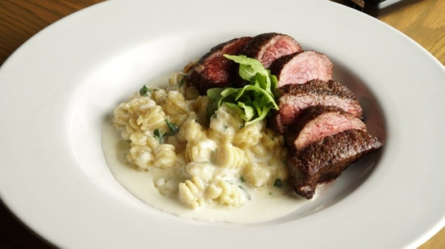 Bavette Grill offers modern American fare, including menu items such as the short rib mac and cheese. (Courtesy Bavette Grill)