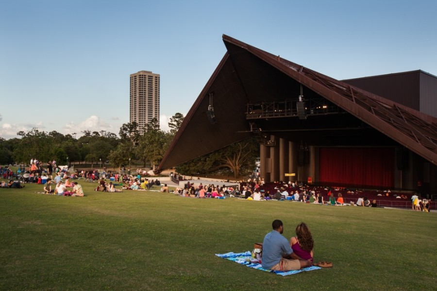 The 2020 Houston Jazz Festival will livestream performances from the Miller Outdoor Theatre. (Courtesy Visit Houston Texas)