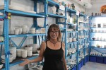 Cheryl Tisland is the owner of Burst of Butterflies in downtown Chandler. (Alexa D'Angelo/Community Impact Newspaper)