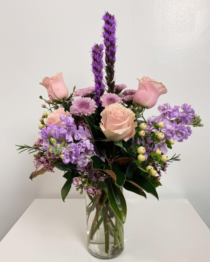 The floral design gallery offers a variety of arrangement services, including wedding design, corporate events and floral workshops. (Courtesy Luxe Stems)