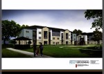 The project would include multifamily housing and additional amenities and services. (Courtesy LDG Development)