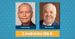 Frank Ortega and Will Peckham are running for Round Rock City Council Place 4.