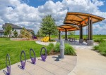 Live Oak Park opened recently in the Parkland Village section of Bridgeland in Cypress. (Courtesy Howard Hughes Corp.)