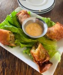 Kitchen 1488's boudin egg rolls are one of many Cajun-inspired dishes. (Courtesy Kitchen 1488)
