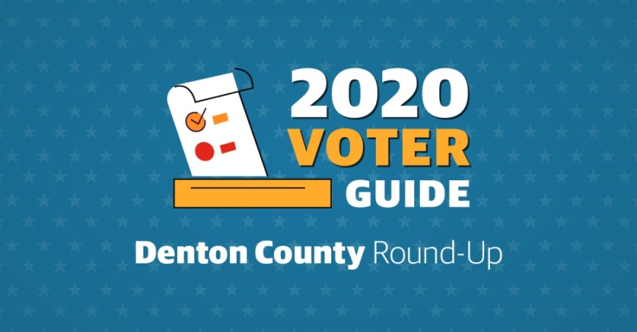 2020 voter guide, ballot box