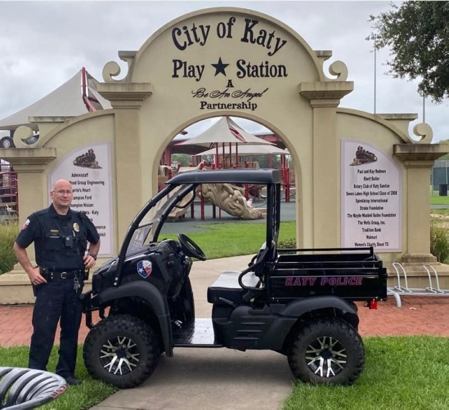 The city of Katy increased police funding at its Sept. 28 meeting. (Courtesy of Chris Harris)