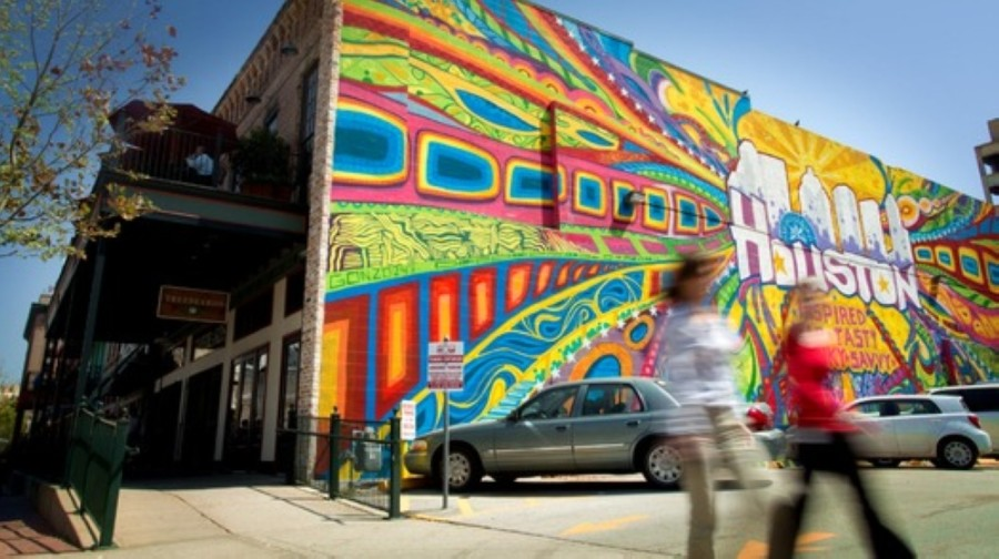 Gonzo mural houston