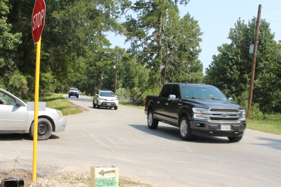 The project, which has two segments, will expand Sorters McClellan Road from two to four lanes. (Kelly Schafler/Community Impact Newspaper)
