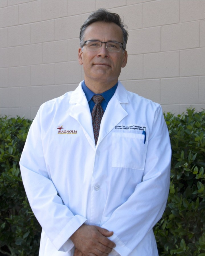 Dr. Alfred Martinez will serve as the district's first chief medical officer. He will be tasked with overseeing the implementation of various health service policies for the physical and mental well-being of students and staff. (Courtesy Magnolia ISD)