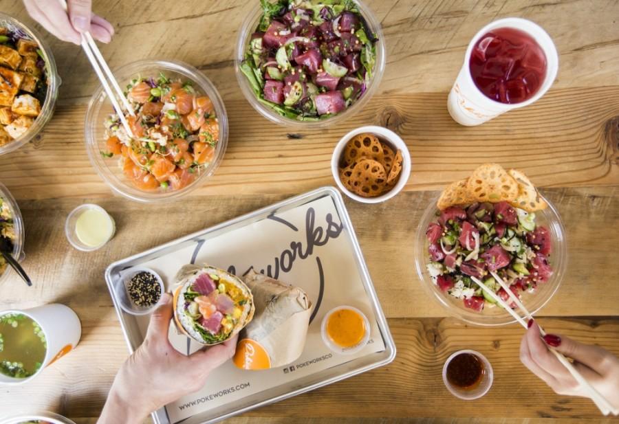 Pokeworks offers customizable poke bowls, burritos and salads. (Courtesy Pokeworks)