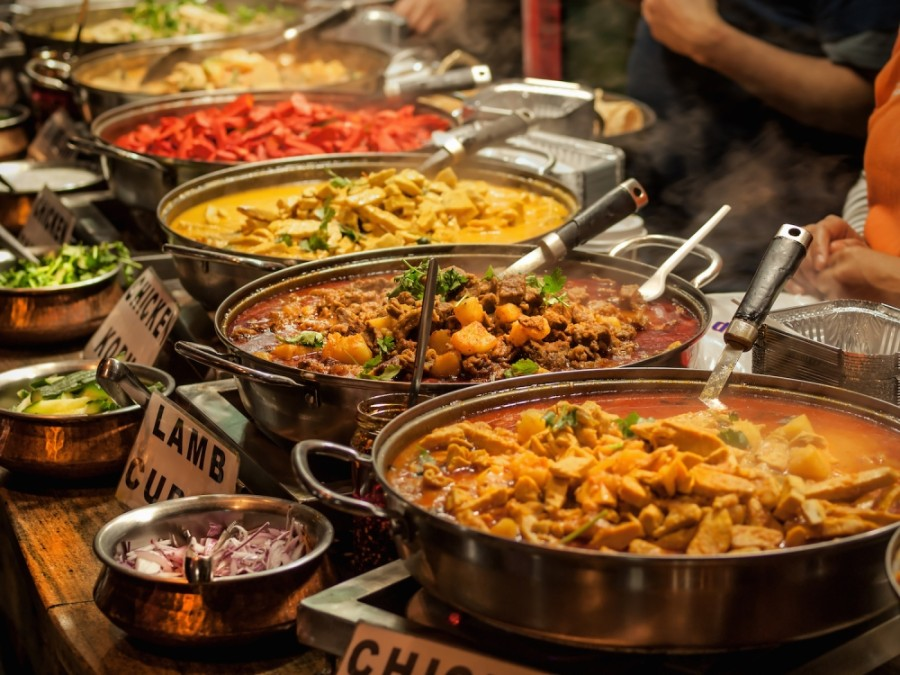 The eatery will serve Indian and Pakistani street food with global influences. (Courtesy Adobe Stock)