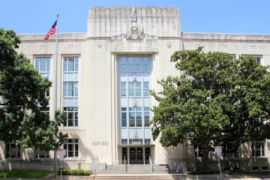 A photo of the 1936 Federal Courthouse