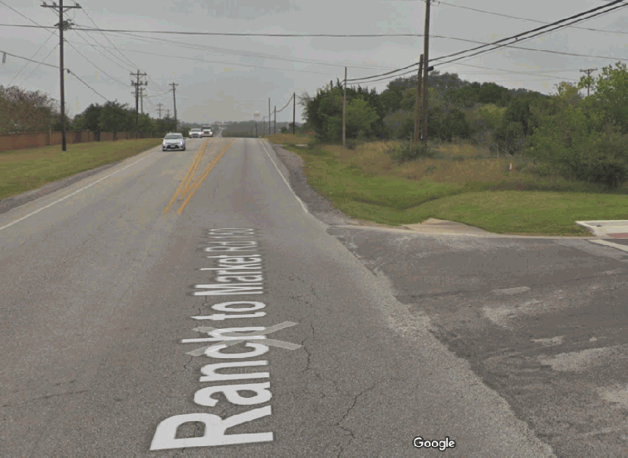 Kyle City Council has named members of the committee that will rename RM 150, the street formerly known as Rebel Drive. (Screenshot courtesy Google Maps)
