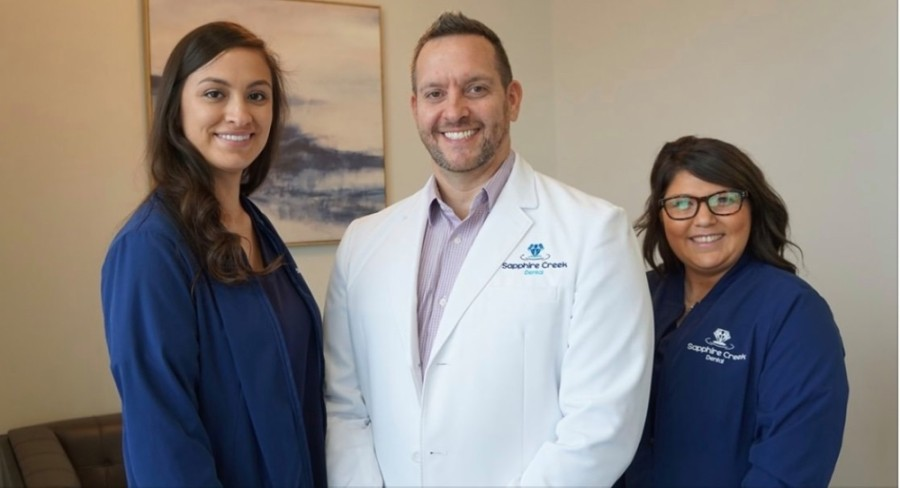 Dr. Archie Gomez and his team offer dental services for all ages. (Courtesy Sapphire Creek Dental)