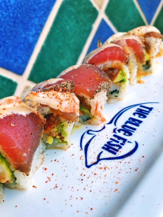 The Blue Fish Sushi has closed its doors in Hughes Landing. (Courtesy The Blue Fish Sushi)