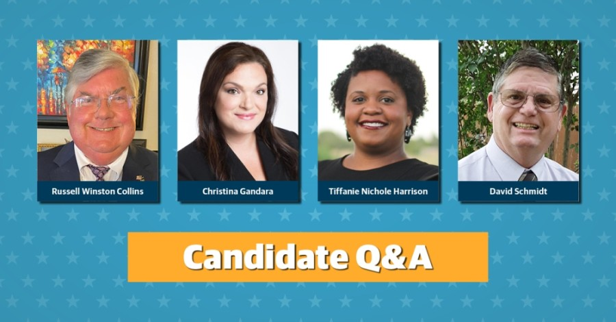Get to know the four candidates who are running for Round Rock ISD board of trustees Place 6. (Community Impact staff)