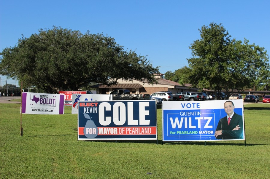 Pearland and Friendswood voters will head to the polls in October and November to vote for local, state and national candidates. (Haley Morrison/Community Impact Newspaper)