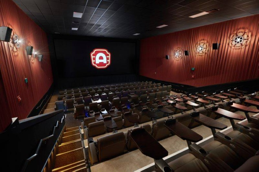 Alamo Drafthouse's Richardson has closed again two months after reopening. (Courtesy Heather Kennedy, Nick Simonite, and Annie Ray)