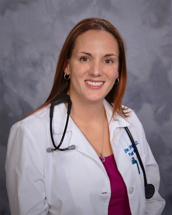 Dr. Erin Wright will start in her role as medical consultant Nov. 1. (Courtesy Comal ISD)