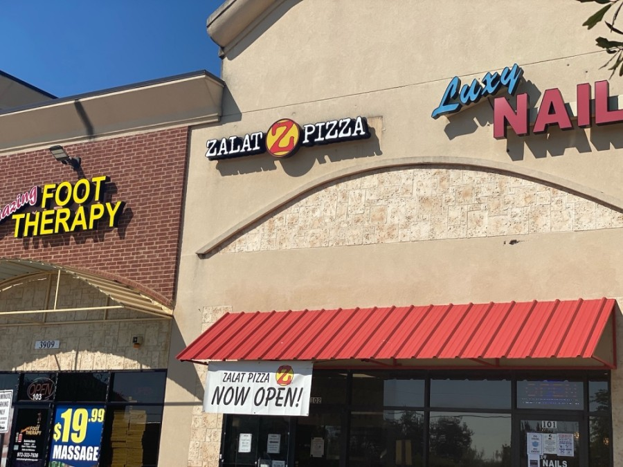 A third ZaLat Pizza location has opened in Plano. (Makenzie Plusnick/Community Impact Newspaper)