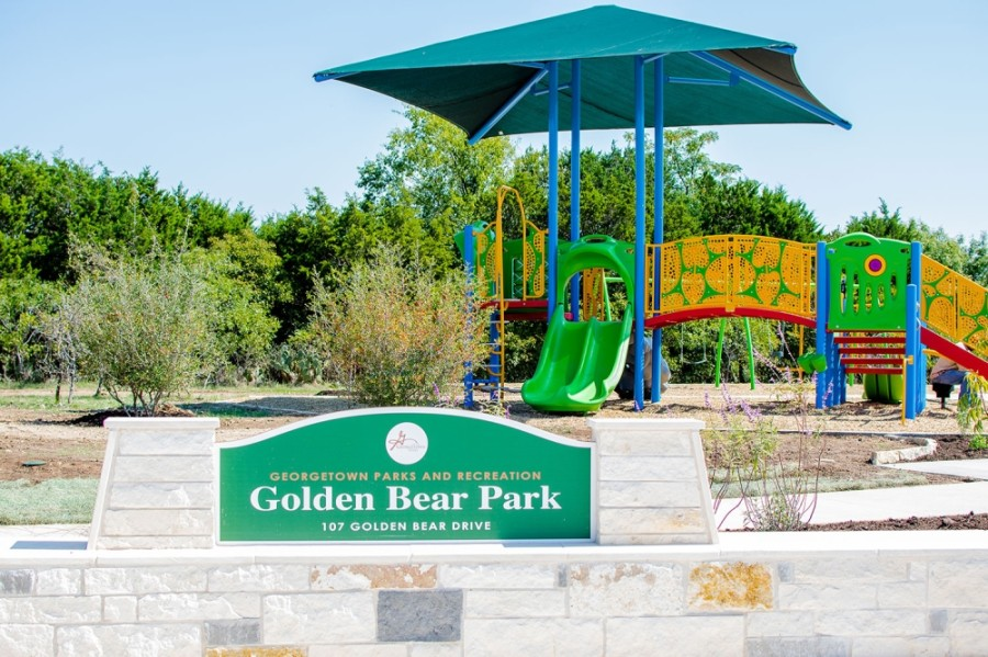 The 2.7-acre Golden Bear Park is located in the Berry Creek neighborhood. (Courtesy city of Georgetown)
