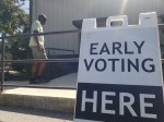 Williamson County broke a record with more than 33,400 ballots cast on the first day of early voting. (Ali Linan/Community Impact Newspaper)