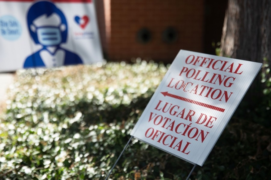The number of ballots cast in Denton County during the first two days of early voting was nearly double that of 2016. (Liesbeth Powers/Community Impact Newspaper)