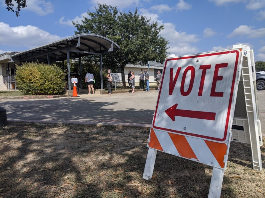 Comal County has recorded 8,845 in-person votes in the first two days of early voting. (Lauren Canterberry/Community Impact Newspaper)