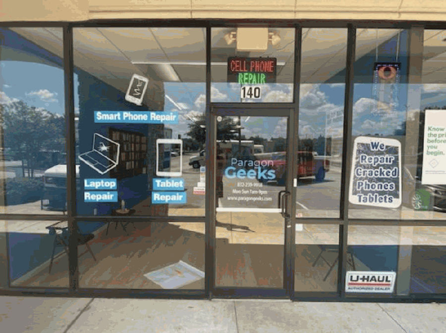 Electronics repair service provider Paragon Geeks opened at 22625 Hwy. 249, Ste. 140, Tomball, on July 15. (Courtesy Paragon Geeks)