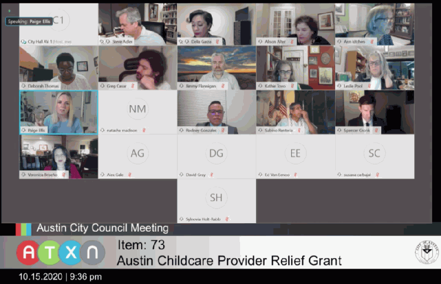 Austin City Council unanimously supported aiming its local stimulus package toward the long-term viability of local at-risk businesses. (Courtesy ATXN)