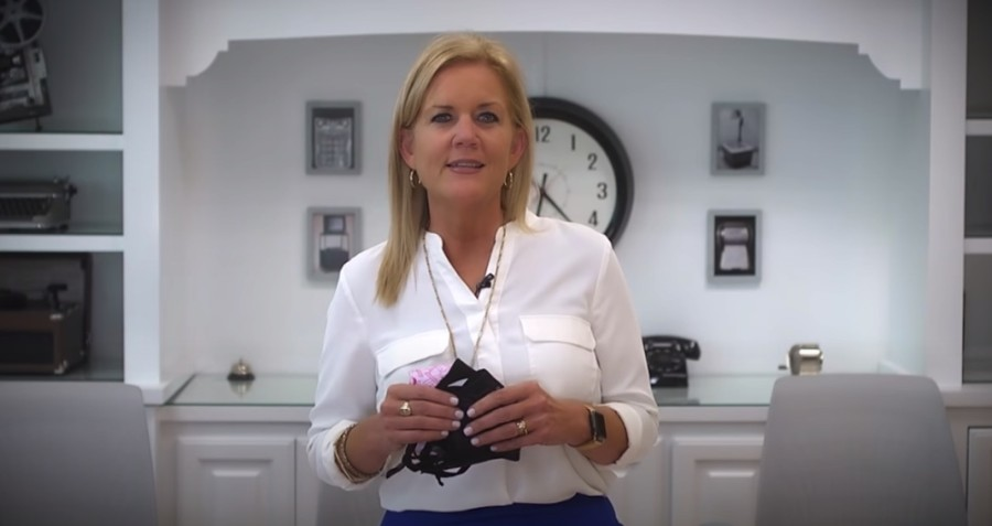 Superintendent Jeannie Stone announced via video Oct. 14 that district schools will remain open despite a recent rise in cases of the coronavirus in Dallas County. (Courtesy YouTube)
