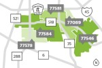 There are five ZIP codes local to the Pearland and Friendswood area. (Community Impact staff)