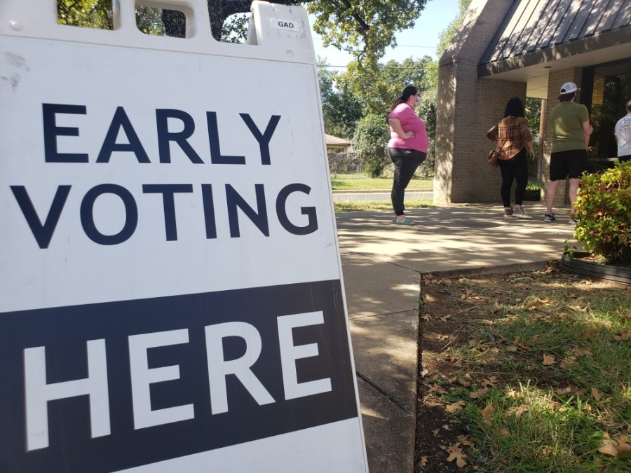 Nearly one third of Williamson County's registered voters have turned out in the first six days of early voting. (Ali Linan/Community Impact Newspaper)