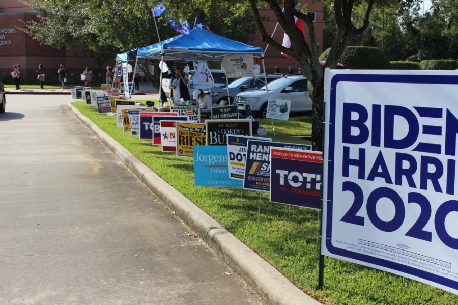 A total of 10 polling places are now open throughout the county for early voting. (Ben Thompson/Community Impact Newspaper)
