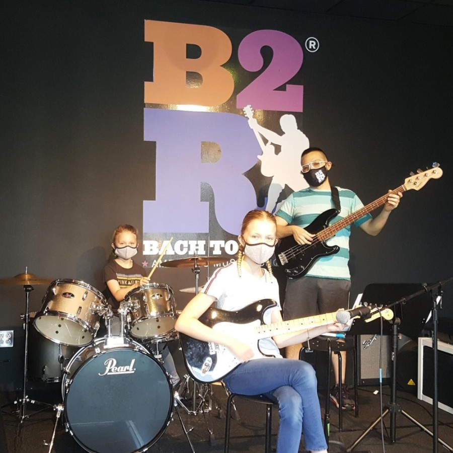 Students take the stage at Bach to Rock Music School, which is opening a new location in McKinney. (Courtesy Bach to Rock)