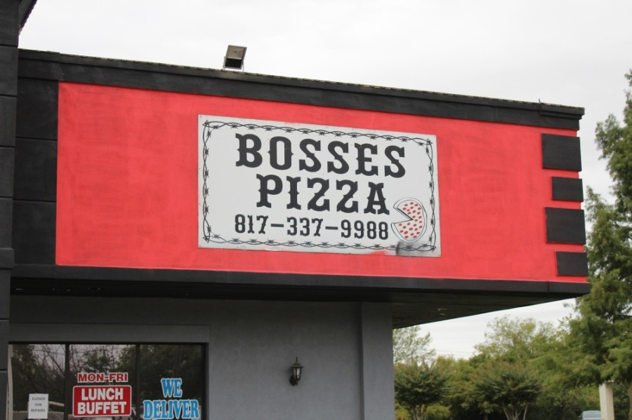 The Bosses Pizza franchise in Keller has permanently closed. There are other locations of the restuarant in the area, including one in Fort Worth. (Sandra Sadek/Community Impact Newspaper)
